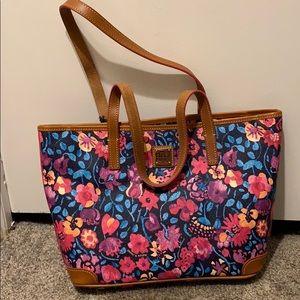 Dinner & Bourne Floral Charleston Handbag